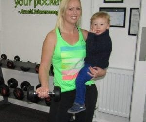 Laura – Lose your baby weight with B! Health & Fitness